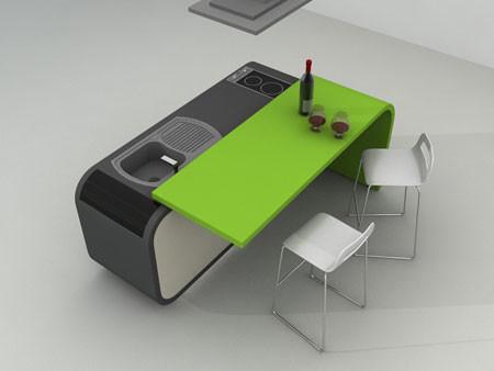 Модульный дизайн кухни