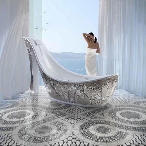 оригинальные ванны