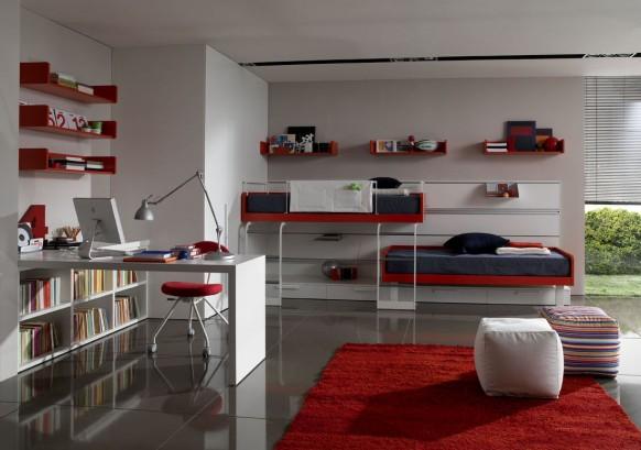 идеи комнат для подростков фото
