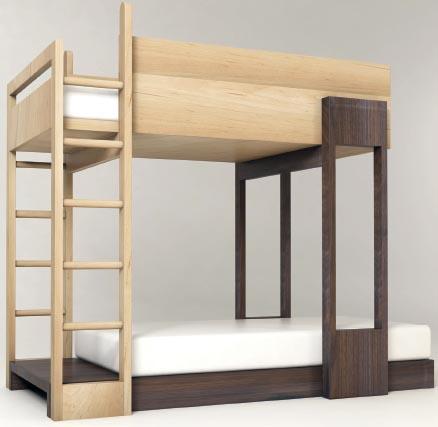двух ярусная кровать фото
