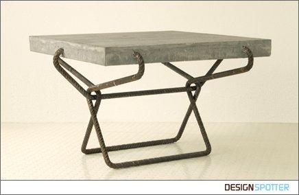 мебель из бетона фото
