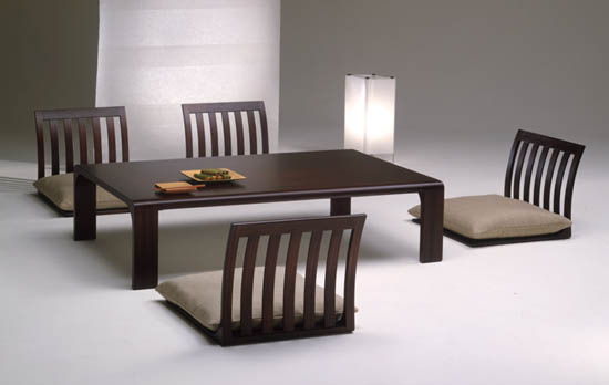 Asian style dining room sets
